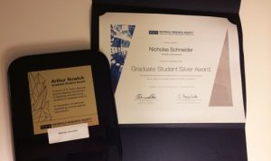 Nicholas Schneider MRS Awards